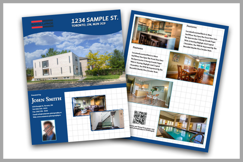 Real Estate Feature Sheets Samples Real Estate Flyer Samples